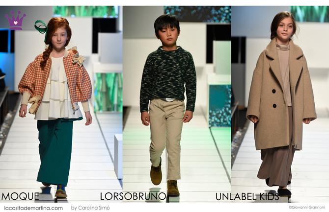 moda infantil, pasarela moda infantil, tendencias invierno 2019 20