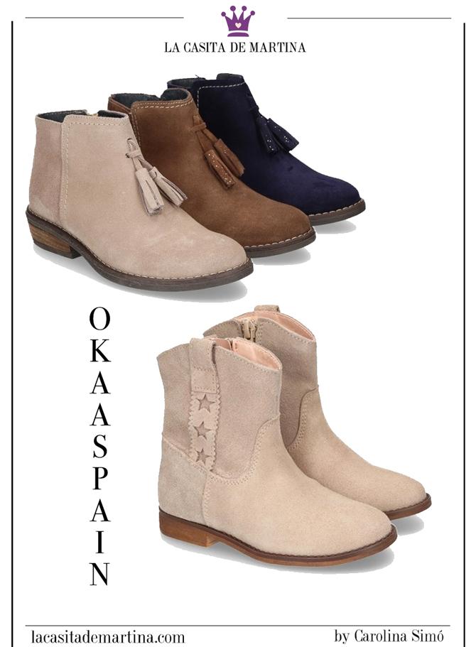 OKAASPAIN, calzado infantil, tendencias calzado, blog moda infantil, la casita de Martina