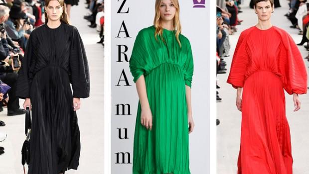 vestido invitada premama, blog moda infantil, zara, la casita de martina, 3