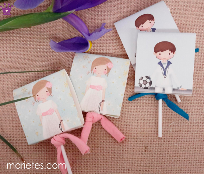 Marietes, invitaciones comuniones, recordatorios comunion, blog moda infantil, la casita de Martina, 1
