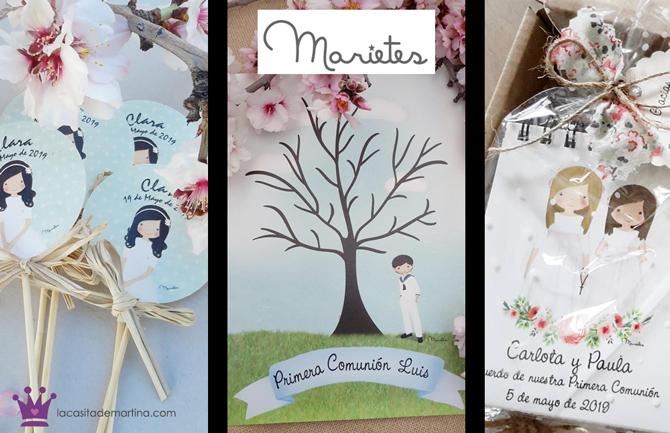 Marietes, invitaciones comuniones, recordatorios comunion, blog moda infantil, la casita de Martina, 6