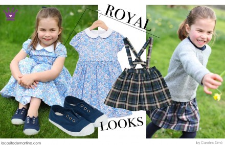 Charlotte de Cambridge, Marcas vestidos Charlotte, Blog moda infantil, La casita de Martina