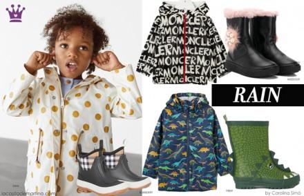 Chubasqueros, zara, burberry, blog moda infantil, La casita de Martina, carolina simo