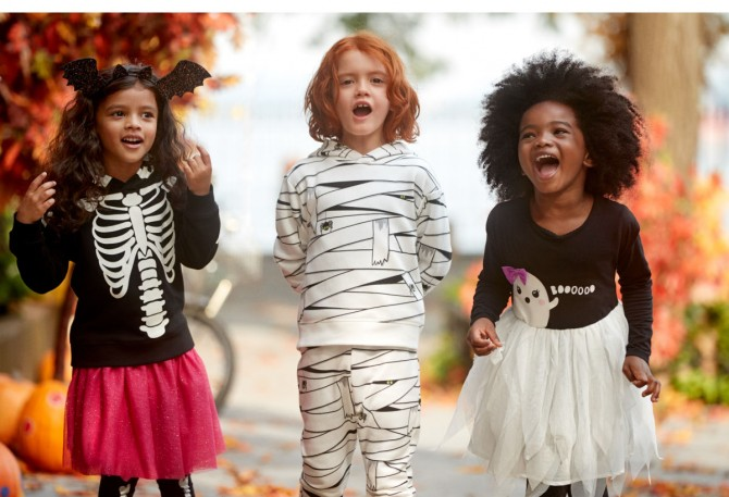 Disfraces originales halloween, blog moda infantil, HM, la casita de Martina, 1