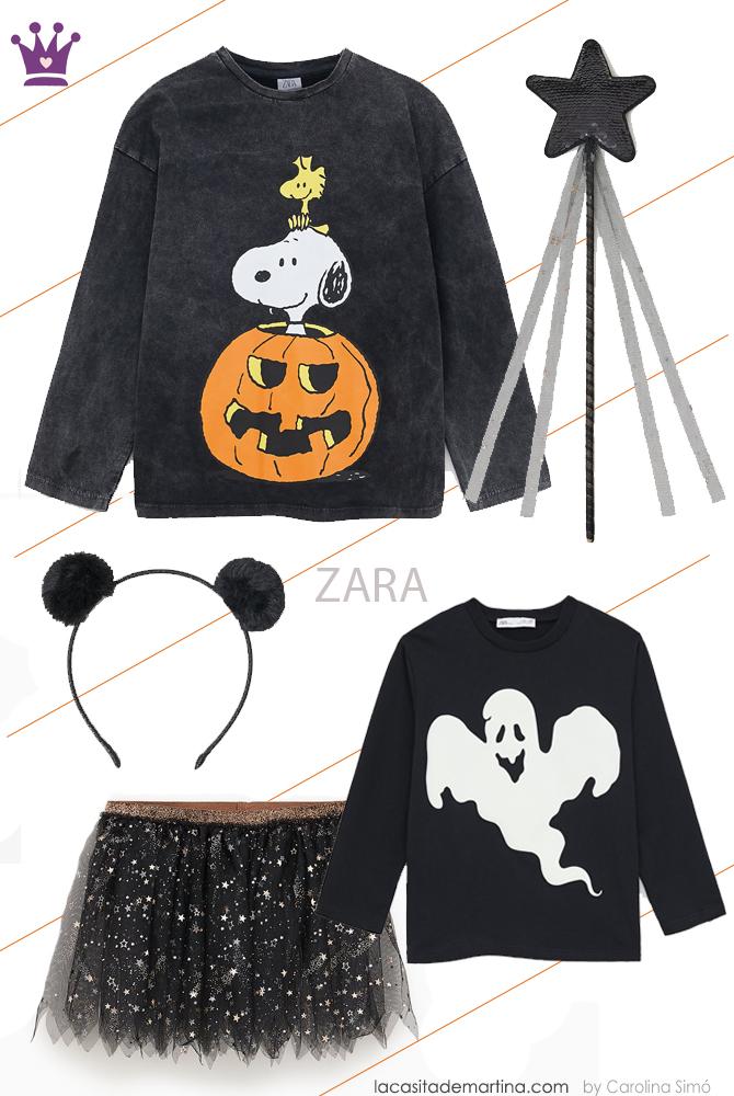 Disfraces originales halloween, blog moda infantil, Zara, la casita de Martina