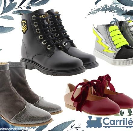 Calzado infantil Carrile, blog moda infantil, la casita de Martina