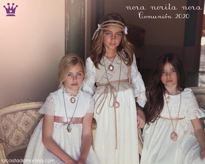 Trajes de comunion 2020, vestidos de comunion, moda infantil, la casita de martina, blog moda infantil, Nora Norita Nora, 3