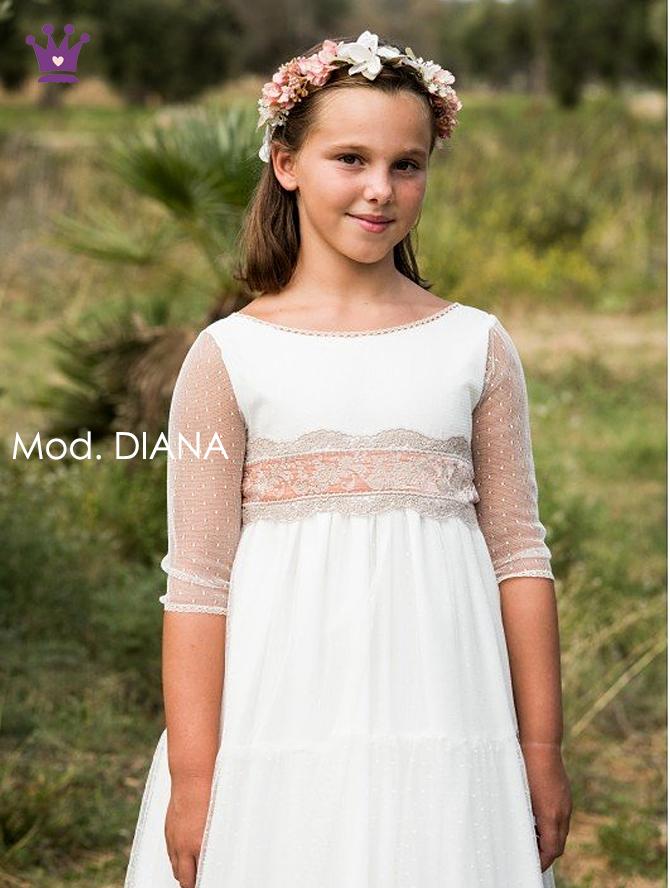 Trajes de comunion 2020, vestidos de comunion, moda infantil, la casita de martina, blog moda infantil, Pilar del Toro, 1