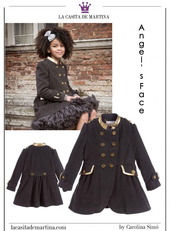 Blog de moda infantil, abrigos chicas, ropa infantil, tendencias, la casita de martina, 1