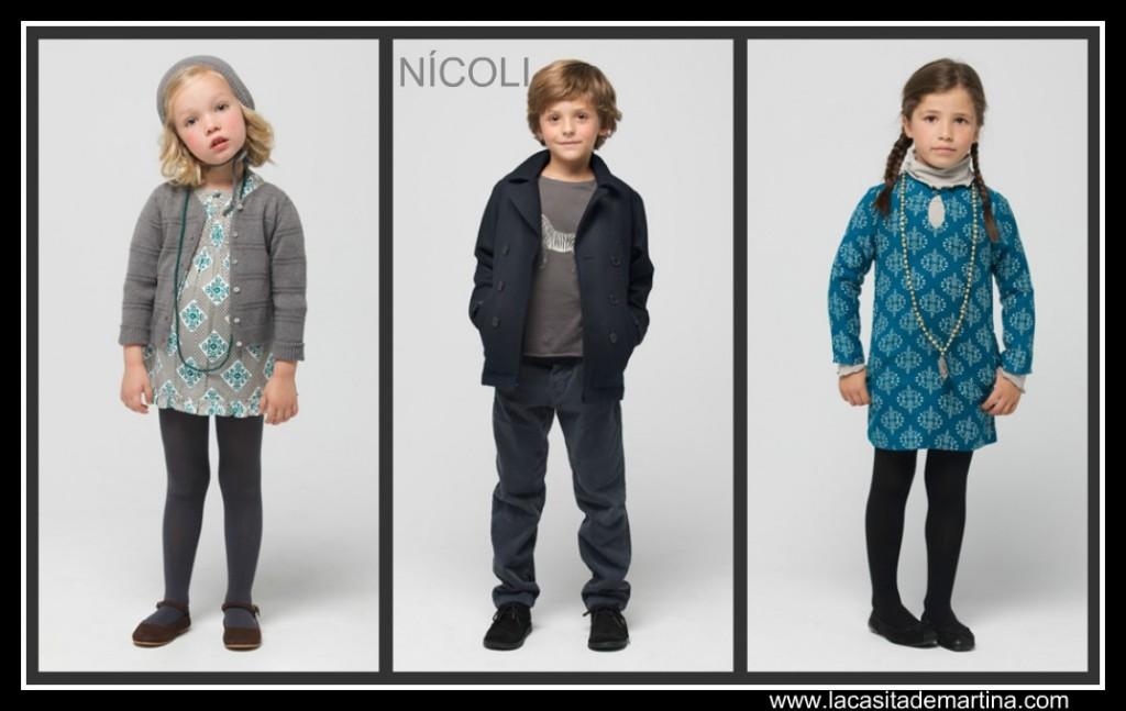 Nícoli - nueva colección otoño invierno 2011 2012 - La casita de Martina Blog moda infantil y premamá