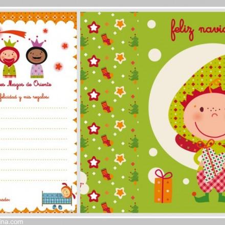 Carta para los Reyes Magos - La casita de Martina Blog Moda Infantil