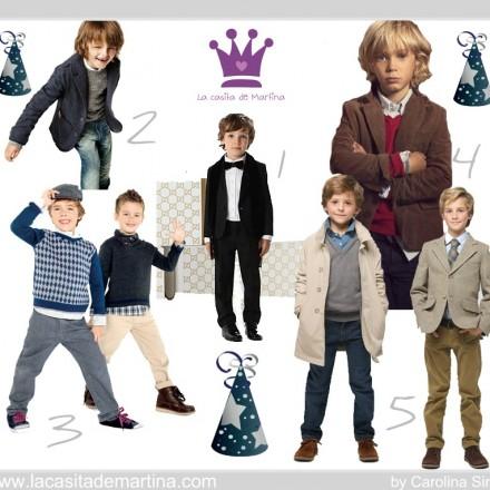 Estilismos de Navidad para niños - La casita de Martina Blog de Moda Infantil