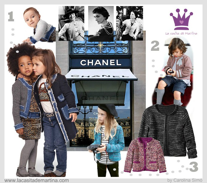TWEED de CHANEL- La casita de Martina Blog  Moda Infantil y Premamá