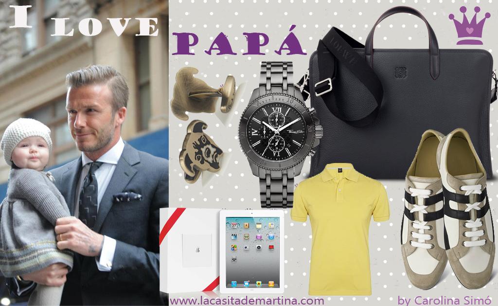 Regalos día del padre - Hugo Boss Loewe Hemès - La casita de Martina Blog Moda Infantil y Premamá