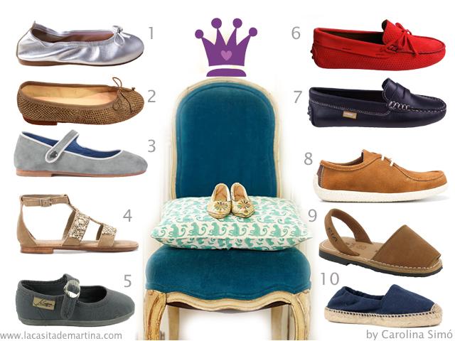Calzado infantil - Zapatos para niños - La casita de Martina Blog de moda infantil y ropa premamá - Carolina SImó