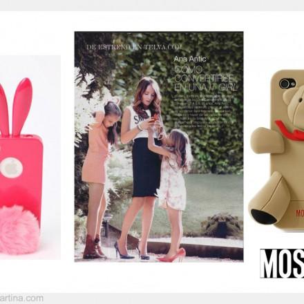Ana Antic funda iPhone rabito, Gennarino Moschino, La casita de Martina Blog de Moda Infantil y Moda Premamá
