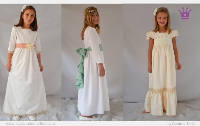 Coordinados moda infantil, Vestidos Comunión 2013, Blog Moda Infantil, La casita de Martina,  Carolina Simó