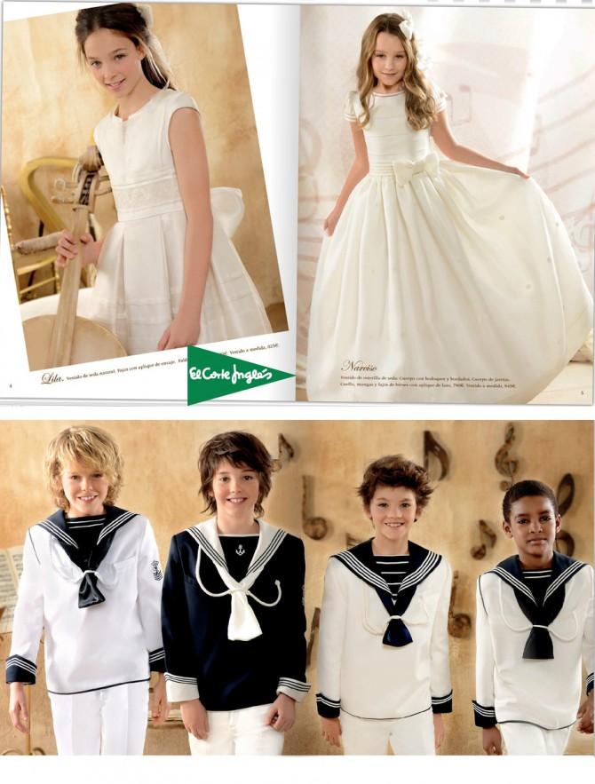 Vestidos de Comunión, Comunión 2013, Trajes de Comunión, El Corte Inglés, Blog Moda Infantil