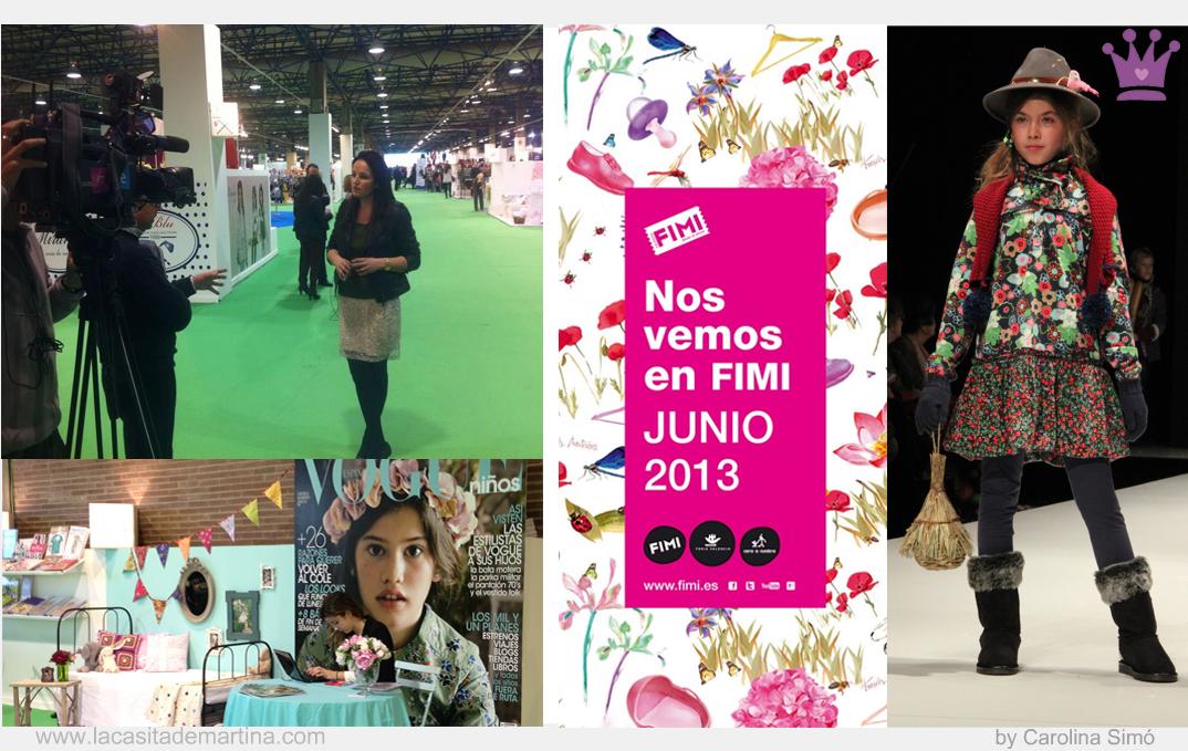 FIMI 76 Edición, Feria Valencia, Blgo Moda Infantil, La casita de Martina, Carolina Simó