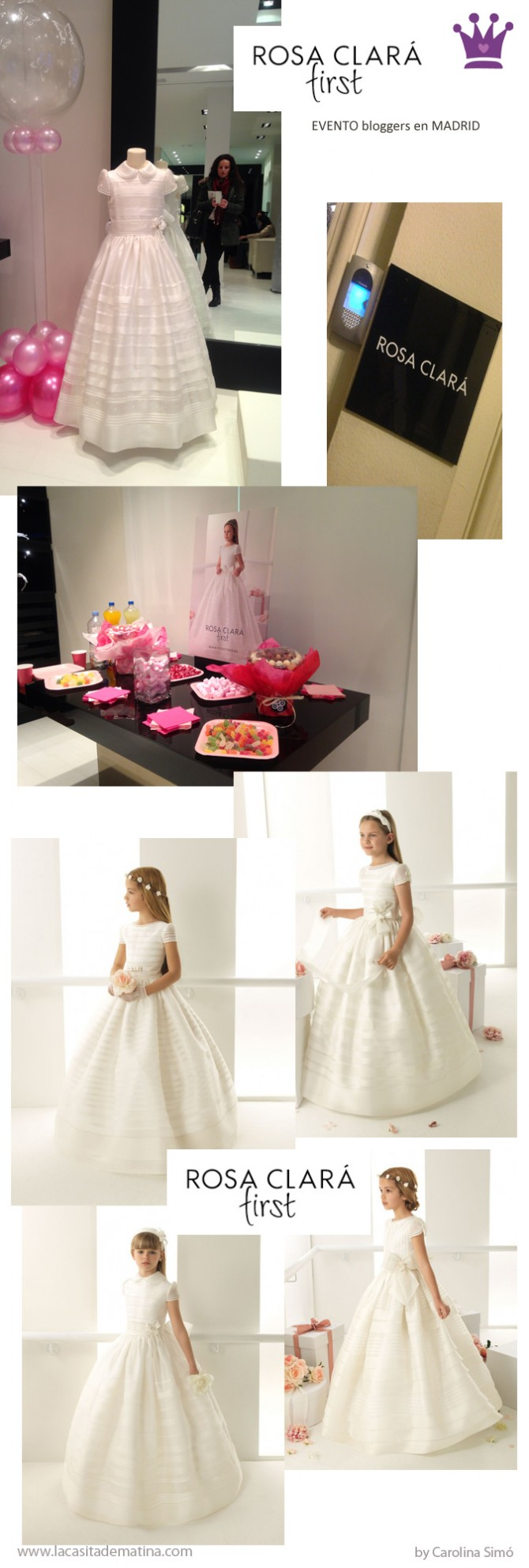 Vestidos de Comunión, Rosa Clará, La casita de Martina, Blog de Moda Infantil, Carolina Simó