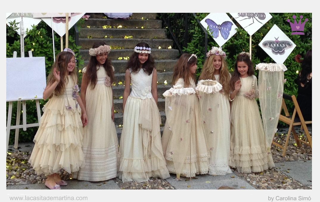 Larrana Vestidos de Comunión, Día Mágico by FIMI, Trajes Comunión, La casita de Martina, Blog de Moda Infantil, Carolina Simó