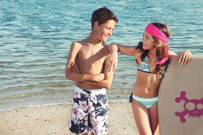 Tizzas, El Corte Ingles, Blog de Moda Infantil, Bañadores para niños, La casita de Martina, Carolina Simó