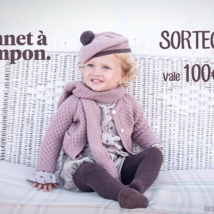 Bonnet a pompon, Sorteo, Blog Moda Infantil, Carolina Simó