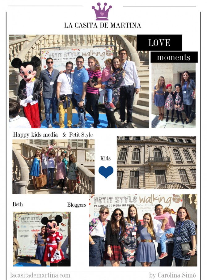 Moda infantil, Petit Style Walking Barcelona, La casita de Martina, Blog Moda Infantil,  Carolina Simó
