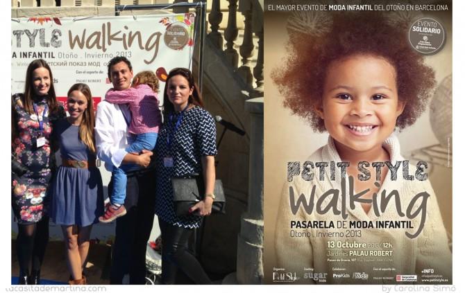Petit Style Walking Barcelona, La casita de Martina,  Blog Moda Infantil, Carolina Simó