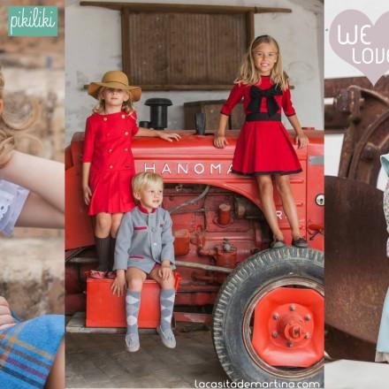 Pikiliki, Coleccion Moda Infantil invierno 2013 2014,La casita de Martina, Blog Moda infantil