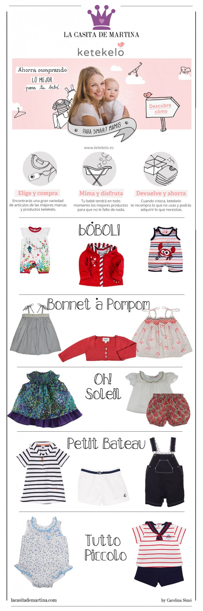 Ketekelo, Moda Bebés, Ropa Bebés, Compra ropa bebés usada, Blog Moda Infantil. La casita de Martina