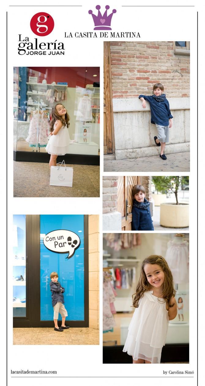 La Galería Jorge Juan, Ada Moda Infantil, Blog Moda Bebé, La casita de Martina,  Blog Moda Infantil