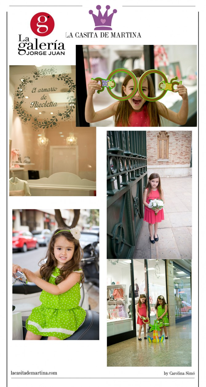 La Galería Jorge Juan,La casita de Martina, Sanmar, El armario de Nicoletta, Blog Moda Infantil