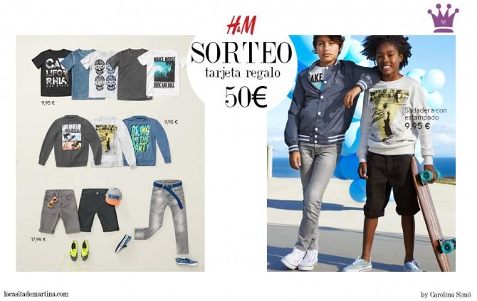 H&M kids, Fashion Kids, Blog Moda Infantil, Ropa Niños, La casita de Martina, Sorteo,