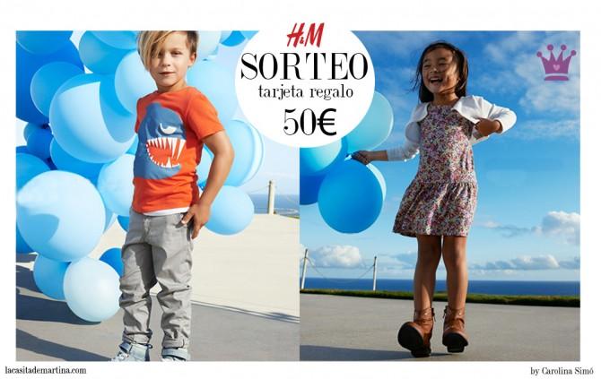 H&M kids, Fashion Kids, Blog Moda Infantil, Ropa Niños, La casita de Martina, Sorteo