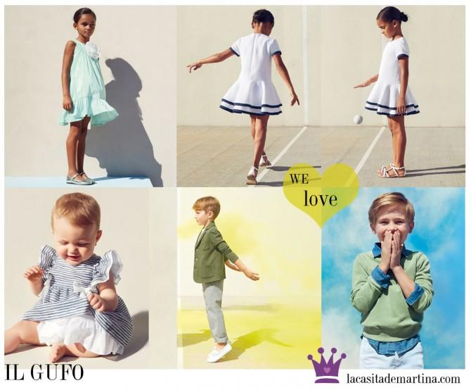 Il Gufo, Moda Infantil, La casita de Martina, Blog de Moda Infantil,  Colección Moda Infantil Verano