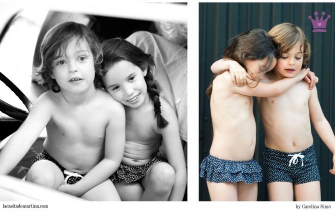 MardeCleo, Bañadores para niños,  Blog Moda Infantil,  La casita de Martina