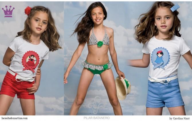 Pilar Batanero Moda Infantil, La casita de Martina, Bañadores niños,   Blog de Moda Infantil
