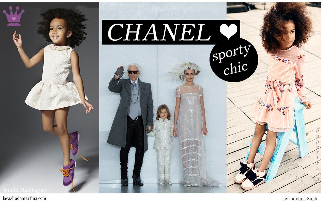 Blog de Moda Infantil, La casita de Martina, Haute Couture Chanel SS14, Tendencias Moda Infantil