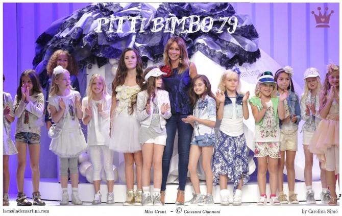 Miss Grant,  Pitti Bimbo 79, Tendencias moda infantil verano 2015, Blog Moda Infantil