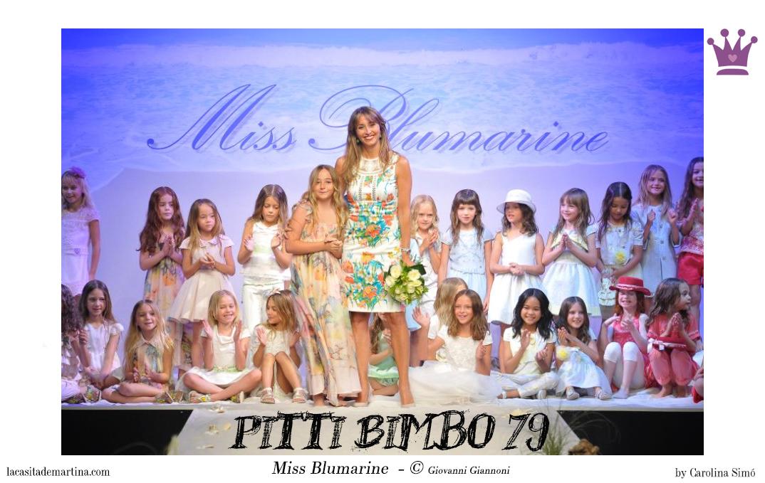 Pitti Bimbo 79, Miss Blumarine, Blog Moda Infantil, La casita de Martina, Ropa niños