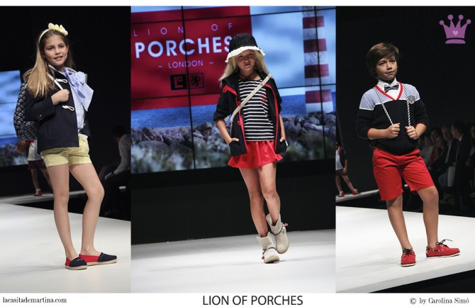 Lion of Porches moda infantil, Blog de Moda Infantil, FIMI feria moda infantil, La casita de Martina
