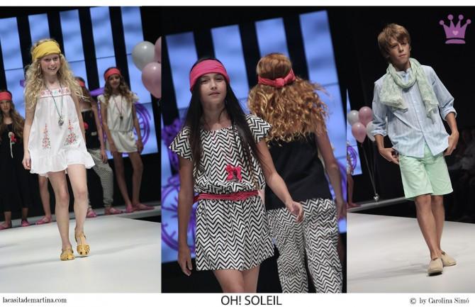 Oh! Soleil, Blog de Moda Infantil, FIMI feria moda infantil, La casita de Martina