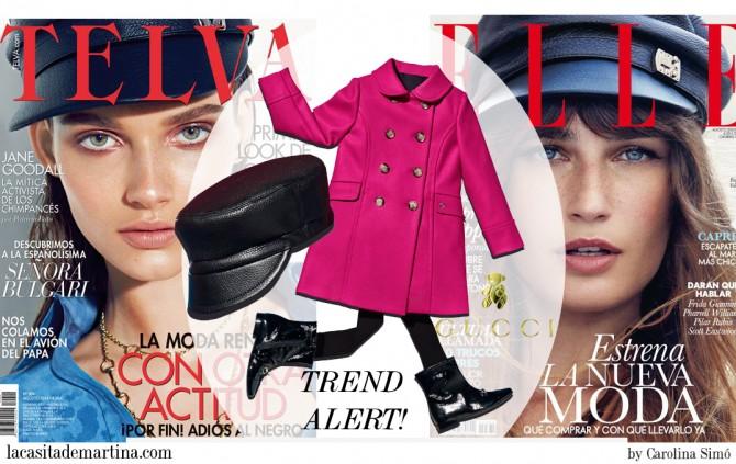 Blog de Moda Infantil, Gorra Gucci, Telva, Elle, Blog Moda Bebé, La Casita de Martina, Tendencias Moda Infantil, Carolina Simó