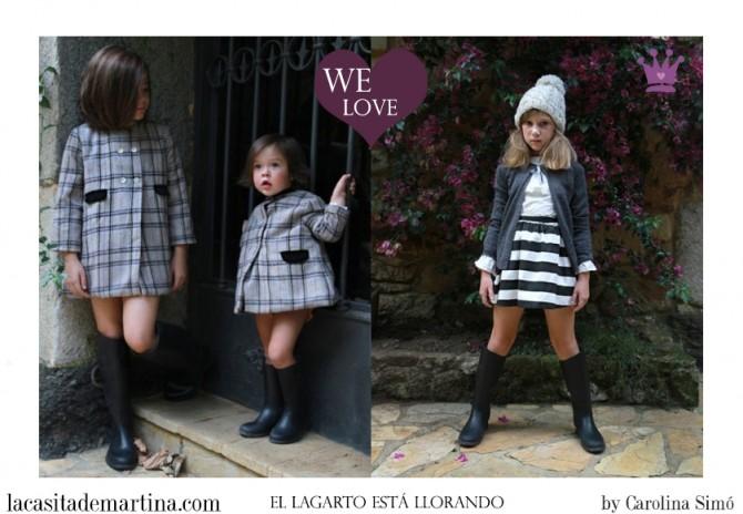 El lagarto está llorando, moda infantil, Blog de Moda Infantil, La casita de Martina, Blog Moda Bebé, Carolina Simó