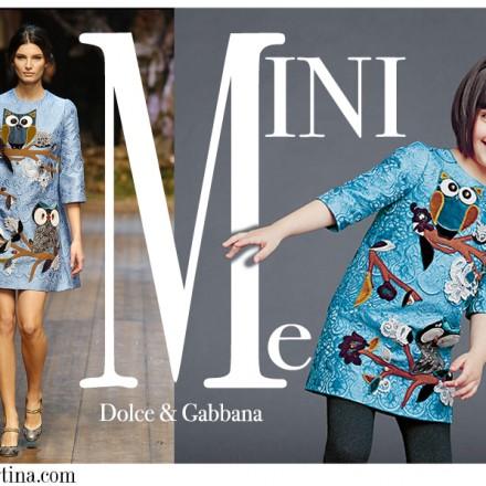 Dolce Gabbana, moda infantil, Blog de Moda Infantil, La casita de Martina, Blog Moda Bebé, Carolina Simó