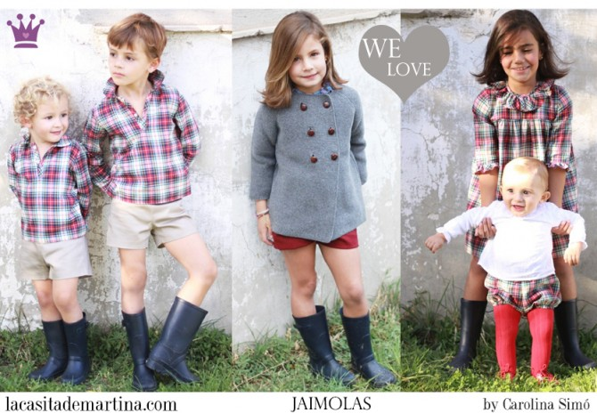 Jaimolas, moda infantil, Blog de Moda Infantil, La casita de Martina, Blog Moda Bebé, Carolina Simó