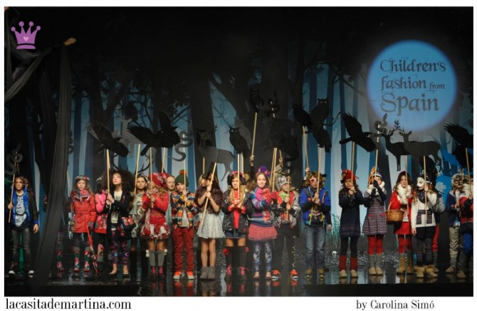 Children's Fashion from Spain, Pitti Bimbo, Moda infantil, La casita de Martina