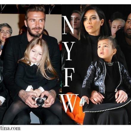 Harper Seven Beckham, North West, NY fashion Week, Moda Infantil, La casita de Martina, Blog Moda Infantil