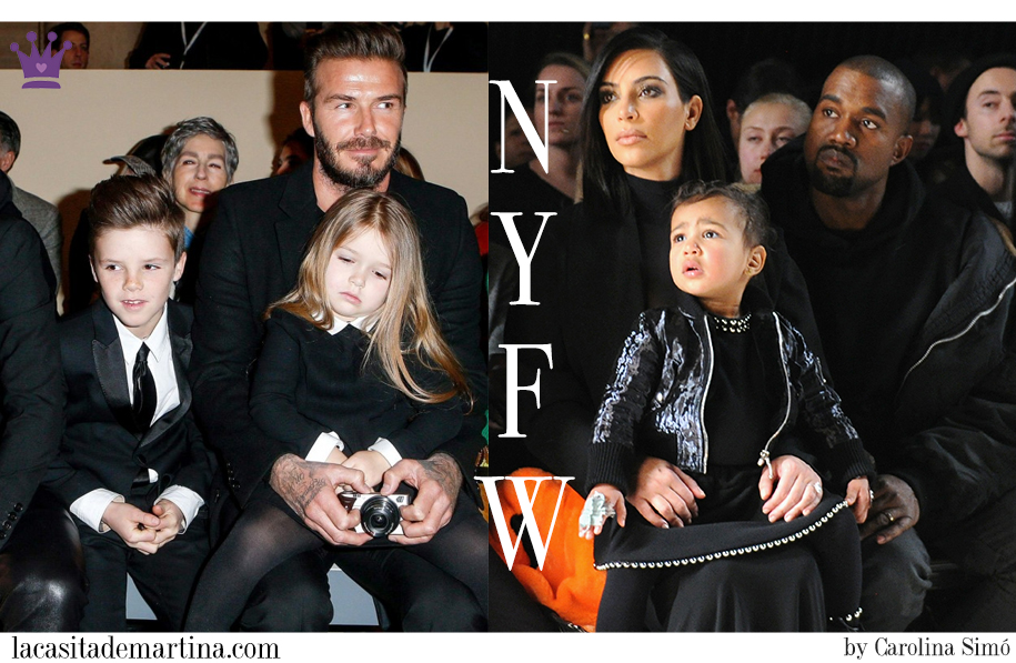 Harper Seven Beckham, North West, NY fashion Week, Moda Infantil, La casita de Martina, Blog Moda Infantil